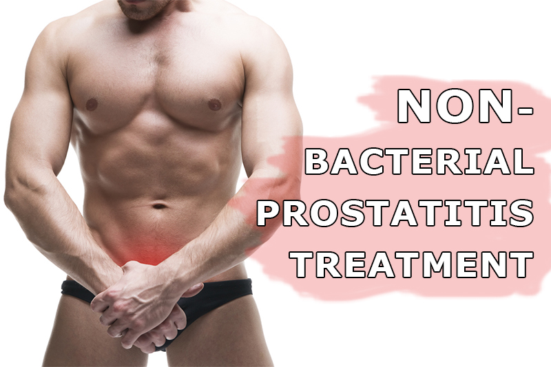 How to cure chronic nonbacterial prostatitis